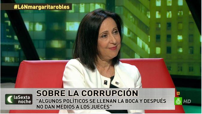"""Margarita Robles: """"La Justicia es una cuestión de Estado y exige el pacto de todas las fuerzas democráticas"""""""