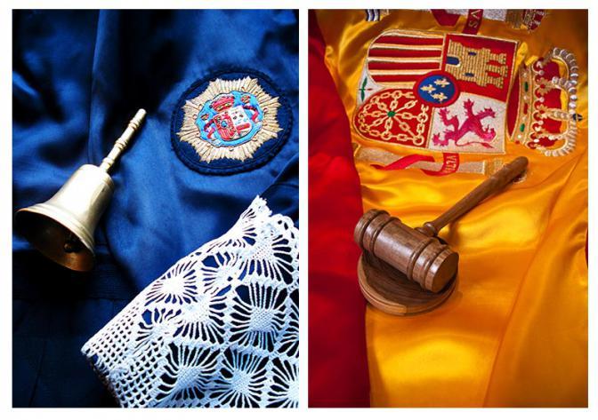 La campanilla y el mazo obedecen a tradiciones jurídicas diferentes