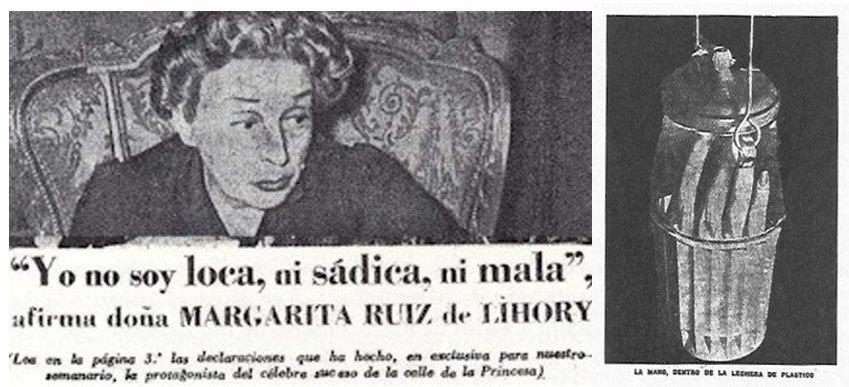 """Una aristócrata le corta una mano y la lengua al cadáver de su hija: fue el """"caso de la mano cortada"""""""