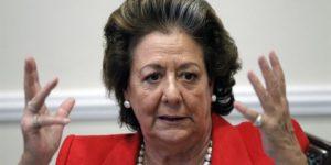 Rita Barberá, ex alcaldesa de Valencia