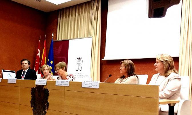 Juan Mejías, Anna Valls, Raquel Alastruey, Sara Pose y Ángeles Peña