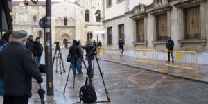 Imagen de la Audiencia de León donde se juzgará el asesinato de Isabel Carrasco (EP)