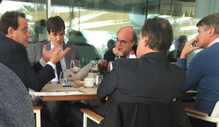 """Pedro Horrach, el fiscal del caso Nóos, """"de copas"""" con los abogados de la infanta Cristina"""
