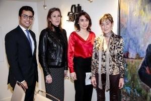 Juan Gonzalo Ospina, Sonia Gumpert, Paloma Segrelles y Victoria Ortega, presidenta del Consejo General de la Abogacía Española. Confilegal.