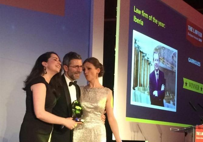 Garrigues, galardonada como 'Firma del Año' por la publicación 'The Lawyer'