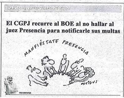 """El diario Levante analiza con humor el """"caso Presencia"""""""