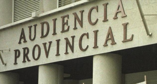 Fachada de la Audiencia Provincial de A Coruña.