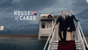 Cartel de la serie 'House Of Cards'.