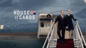 Cartel de la serie 'House Of Cards'.