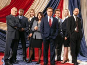 El ala oeste de la Casa Blanca, una de las mejores series sobre política americana.