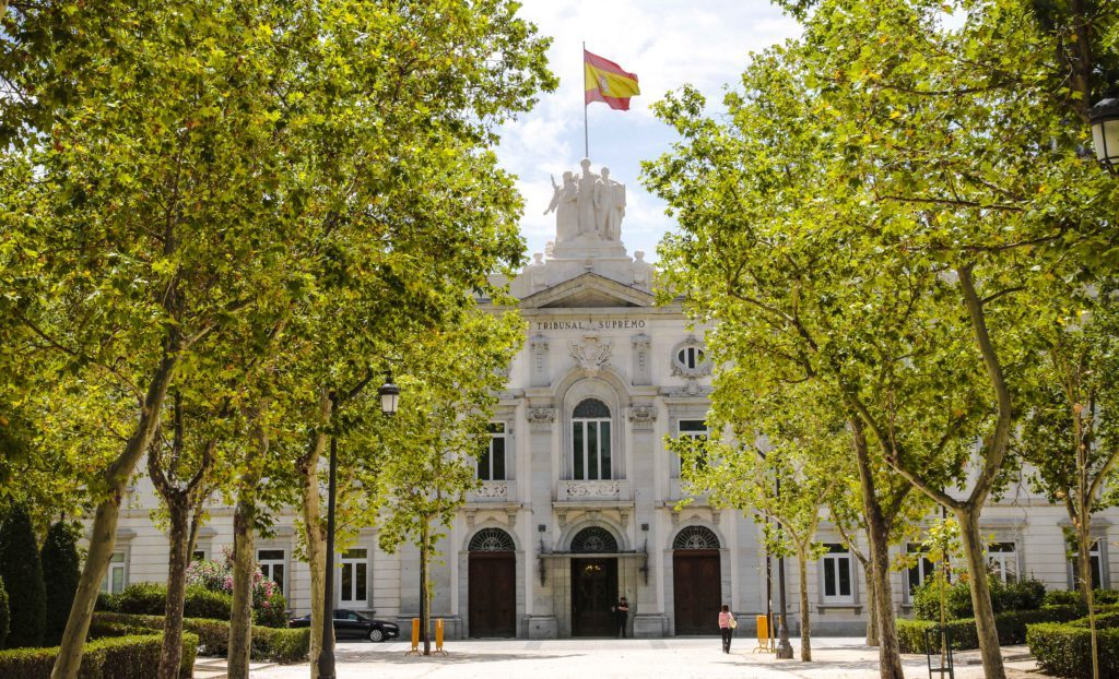 Palacio de Justicia que alberga al Tribunal Supremo, en el que tiene su sede la Sala de lo Contencioso-administrativo, autora de esta sentencia. Confilegal.