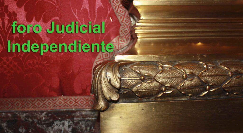 """El Foro Judicial Independiente ve """"insuficientes"""" las explicaciones del CGPJ sobre su actividad inspectora"""