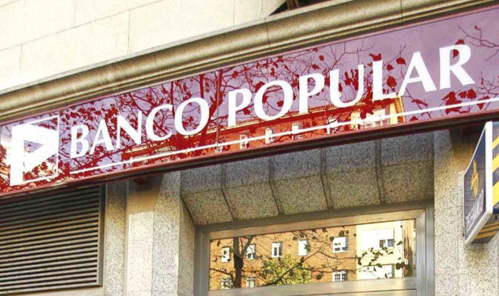 El Mercantil 9 de Madrid admite a trámite el concurso necesario de acreedores del Banco Popular