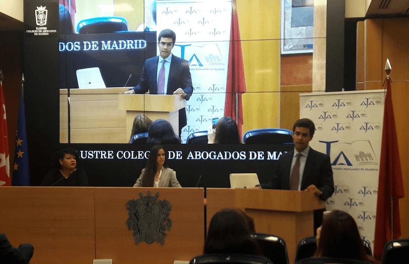 """Los jóvenes abogados madrileños reclaman """"una mejor Administración de Justicia"""""""