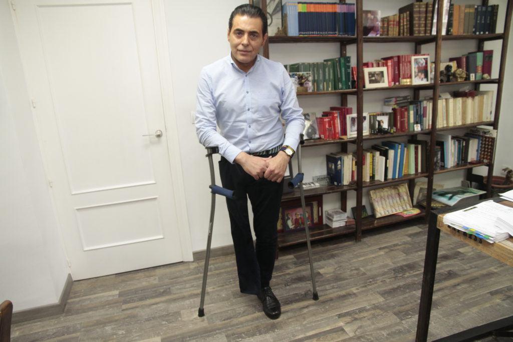 Indulto para Luis Hiniesto, el vendedor de la ONCE al que trató de asesinar su mujer