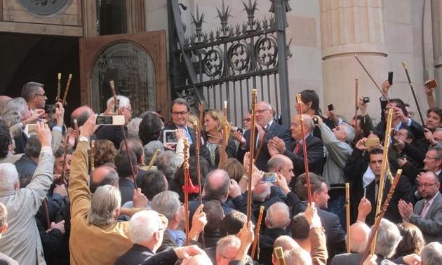 La Fiscalía insiste que Artur Mas no malversó porque la suspensión del 9-N era cautelar