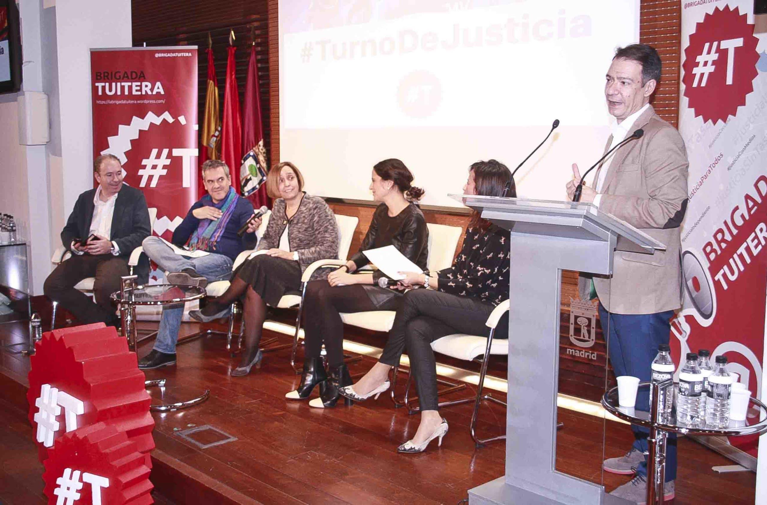 Ángel López, Alfredo Herranza, Verónica del Carpio, Ana Garnelo, Virginia Mate y Rafael Cobos. Confilegal.