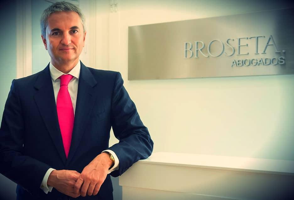 Manuel Broseta, presidente de Broseta Abogados, uno de los mejores despachos de abogados de España.