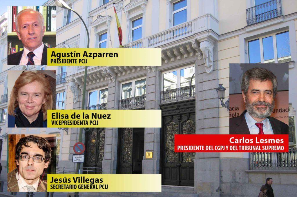 """La PCIJ a Lesmes: """"Hay 'amiguismo' en los nombramientos discrecionales"""""""