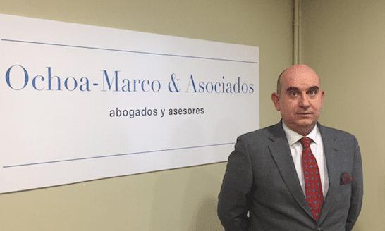 Raúl Ochoa-Marco se desvincula de Martínez-Echevarria Abogados