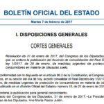 El BOE publica el acuerdo de convalidación del decreto de las cláusulas suelo