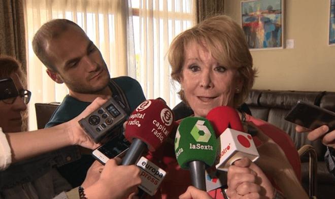 Los proyectos estrella de Esperanza Aguirre investigados por el juez Velasco
