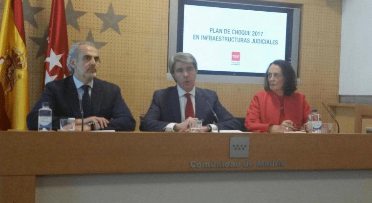 Más de 7 millones de euros para el Plan de Choque de las sedes judiciales de Madrid