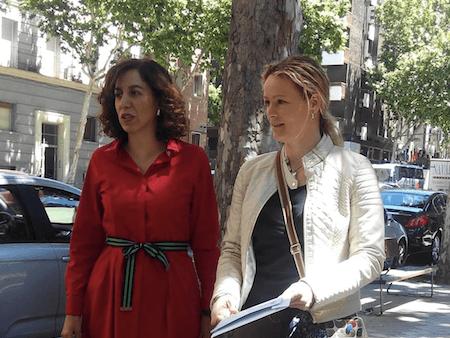 Rechazan la demanda del coronel Lezcano-Mújica contra Irene Lozano y Zaida Cantera