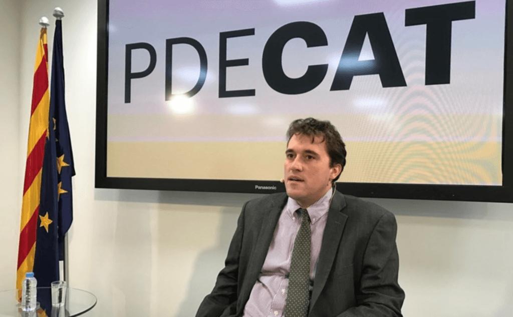 David Bonvehí (PDeCAT) llevará a Fiscalía la filtración de su conversación y pide cuentas a ERC