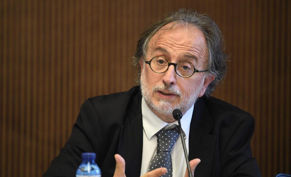 Carles McCragh, presidente del Consell de l'Advocacia
