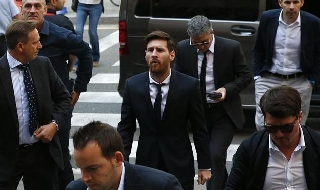 Messi pagará 255.000 euros de multa para no entrar en prisión
