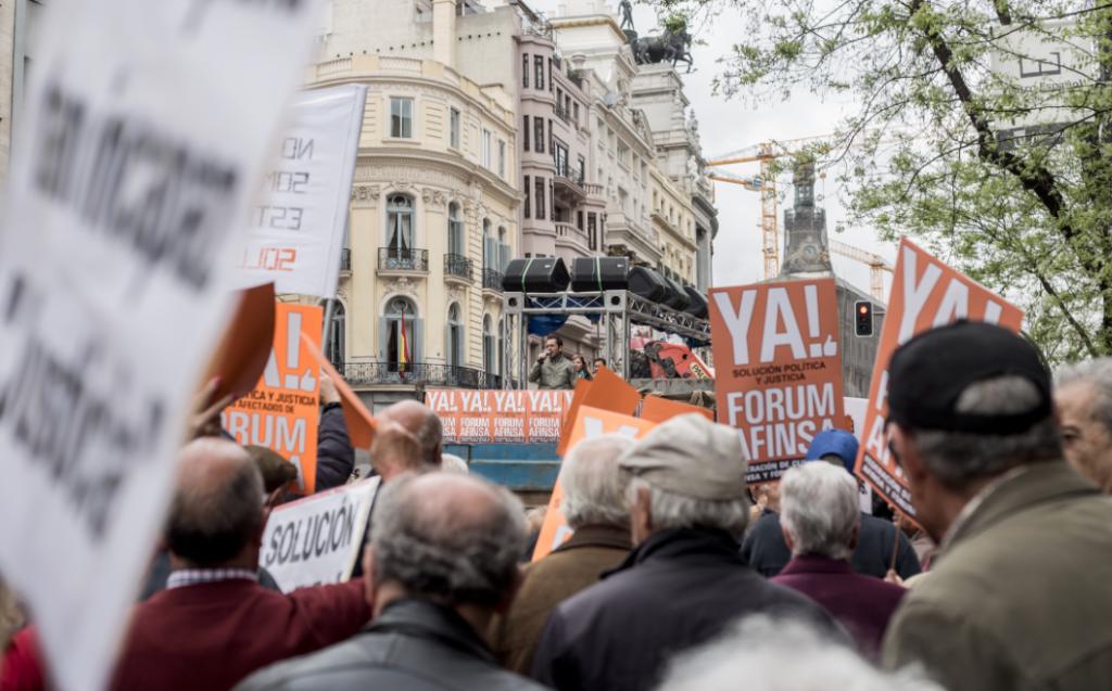 Los afectados de Fórum y Afinsa presentan el lunes una nueva demanda contra el Estado