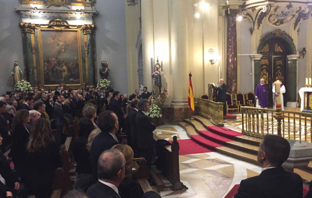Despedida multitudinaria al fiscal general del Estado, José Manuel Maza