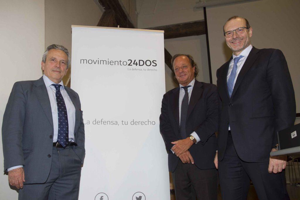 La candidatura al ICAM Movimiento 24DOS se convierte en asociación para defender los derechos y libertades