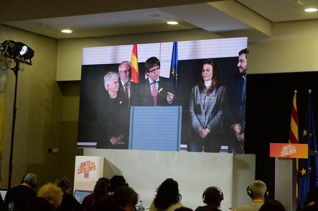 La Fiscalía advierte a Puigdemont que su inmunidad no le exime de la prisión