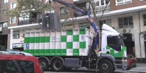 Servicio de recogida de efectos de reciclaje en Madrid.