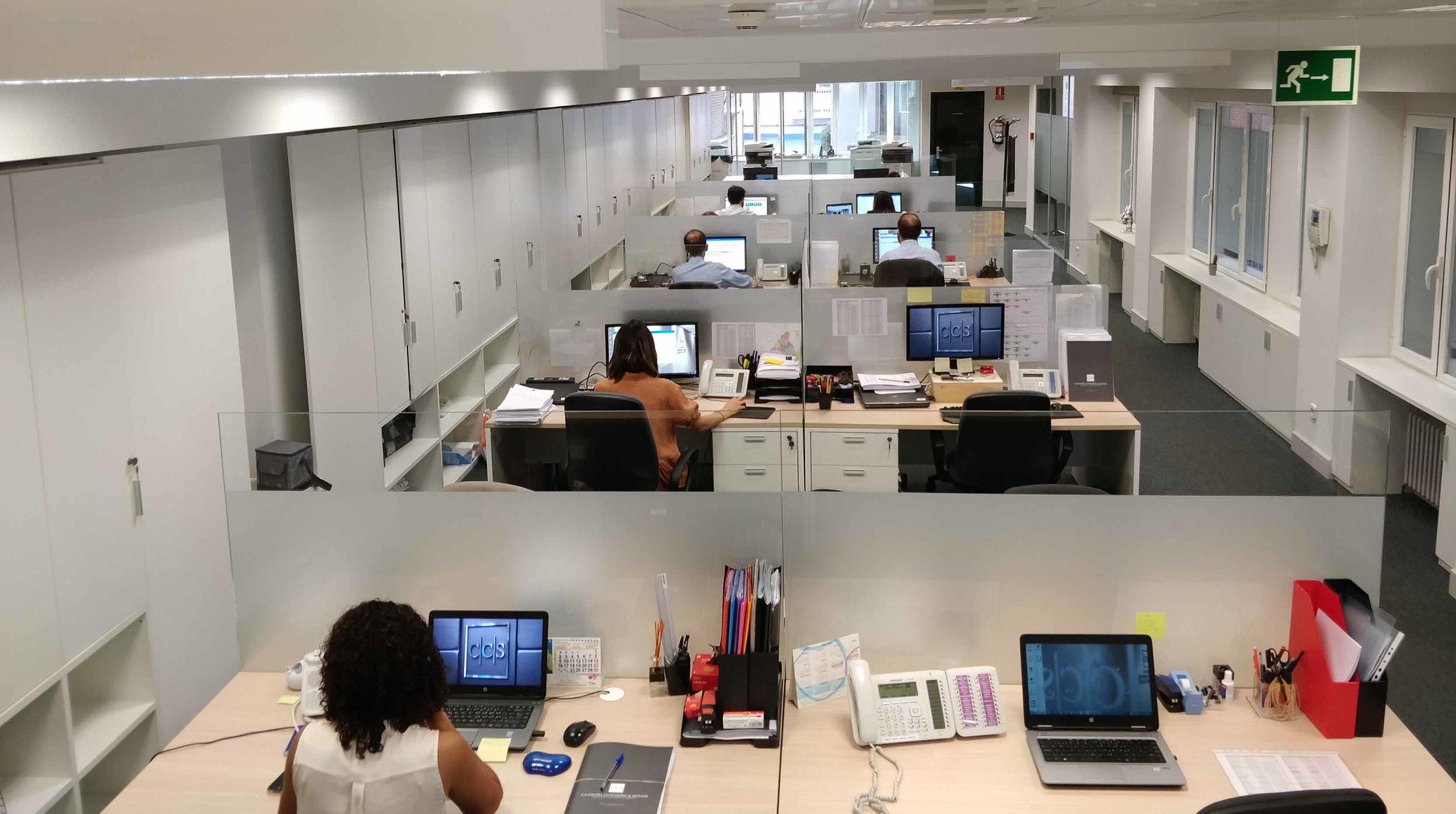 Oficinas abiertas, un nuevo concepto se impone en las firmas de abogados