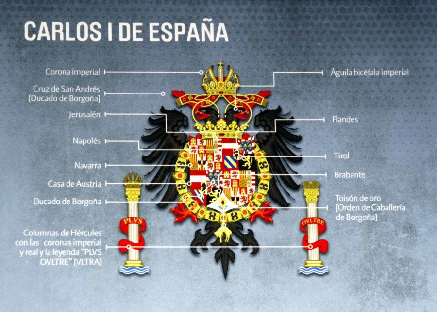 Constitucion espanola escudo bandera