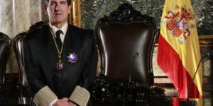 El magistrado Andrés Martínez Arrieta -en una foto de 2013- será quien presida el tribunal que juzgará a los independentistas en sustitución de Manuel Marchena. Carlos Berbell.