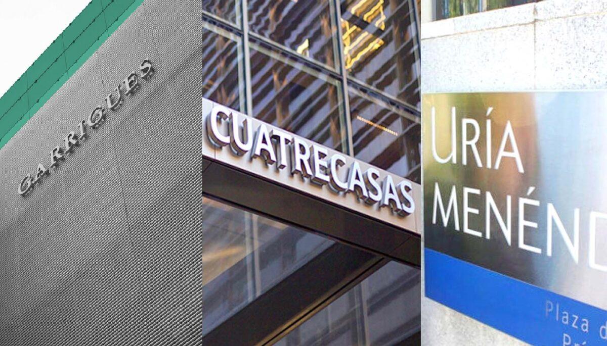 ¿Cuánto pagan Cuatrecasas, Garrigues y Uría a sus abogados?