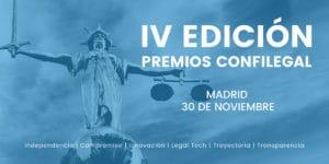 IV Premios Confilegal