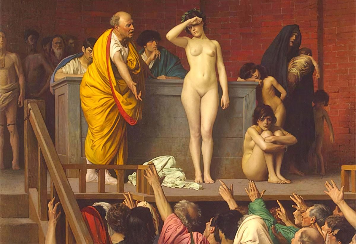 Los acreedores podían esclavizar a los morosos y venderlos para cobrarse la deuda en la Antigua Roma