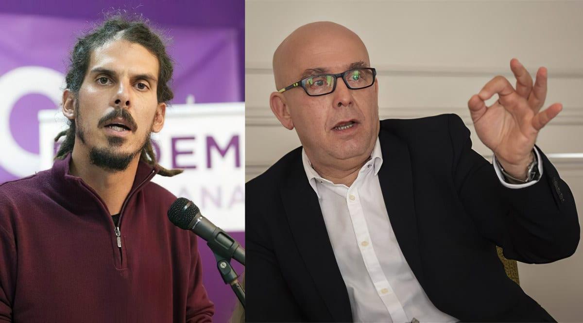 El exdiputado de Podemos contrata al abogado de Puigdemont, Gonzalo Boye, para recurrir ante el TC la desposesión de su escaño